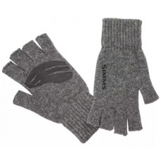 Перчатки Simms Wool Half Finger Glove Steel