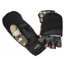Перчатки Simms Gore Infinium Foldover Mitt Riparian Camo