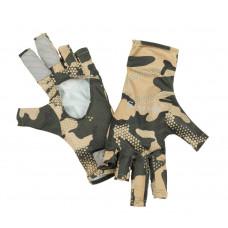 Перчатки Simms BugStopper Sunglove Hex Flo Camo Timber