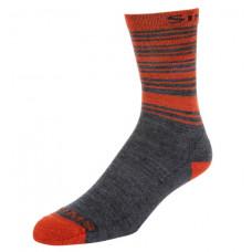 Носки Simms Merino Lightweight Hiker Sock Carbon