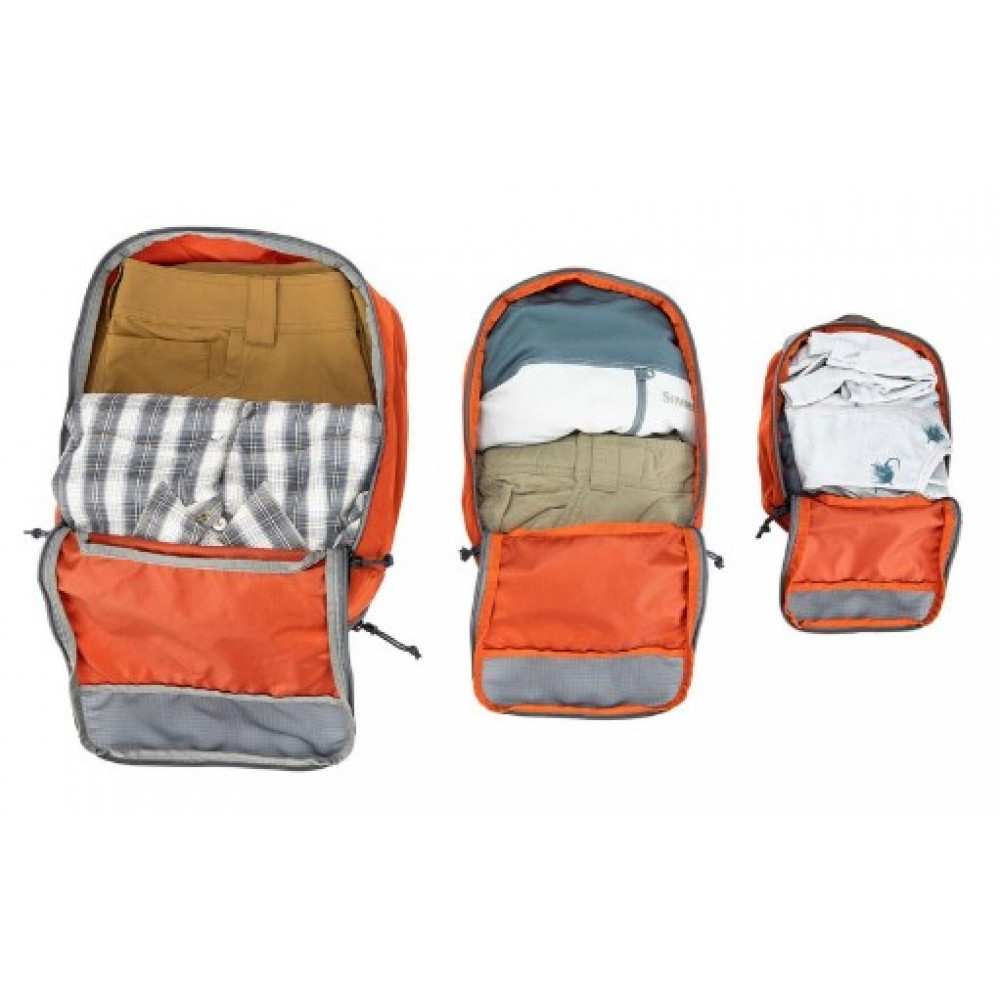 Набор сумок Simms GTS Packing Pouches 3 Pack Simms Orange