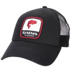 Кепка Simms Bass Patch Trucker Black