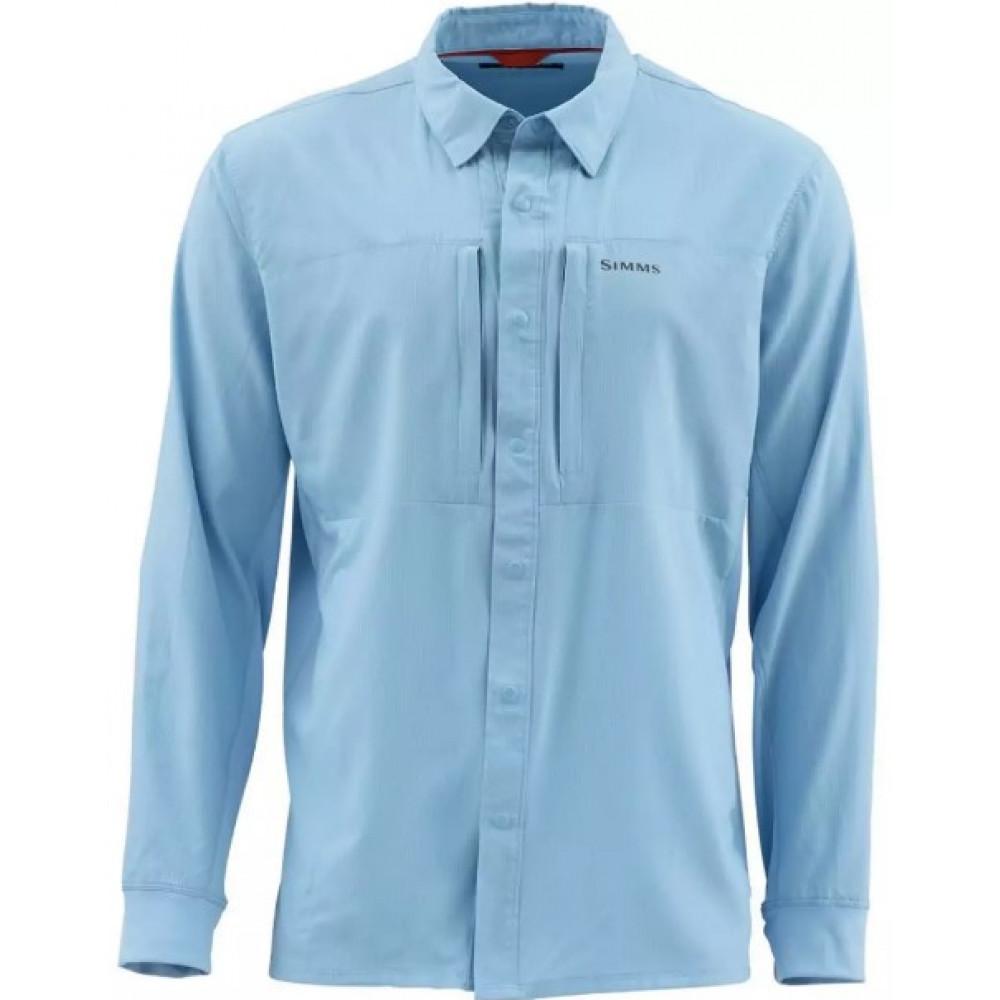 Рубашка Simms Intruder BiComp Shirt Faded Denim L