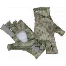 Перчатки Simms Sunglove Hex Camo Loden