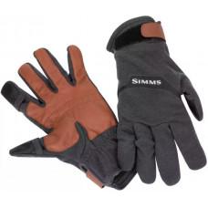 Перчатки Simms LW Wool Tech Glove Carbon