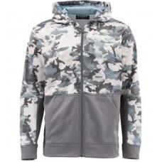 Куртка Simms Challenger Hoody Full Zip Hex Flo Camo Grey Blue