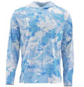 Блуза Simms SolarFlex Hoody Print Cloud Camo Blue XXL